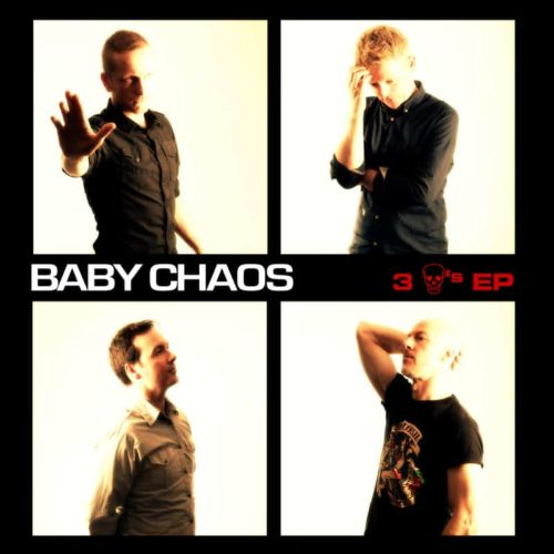 Baby Chaos - 3 Skulls EP artwork