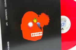 Baby Chaos - Ape Confronts Cosmos - Sleeve and red vinyl