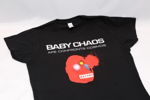 Baby Chaos - Ape Confronts Cosmos - T-Shirt