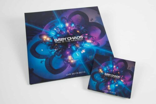 Baby Chaos - This Is The Moment - Live 2015-2019 CD and Vinyl